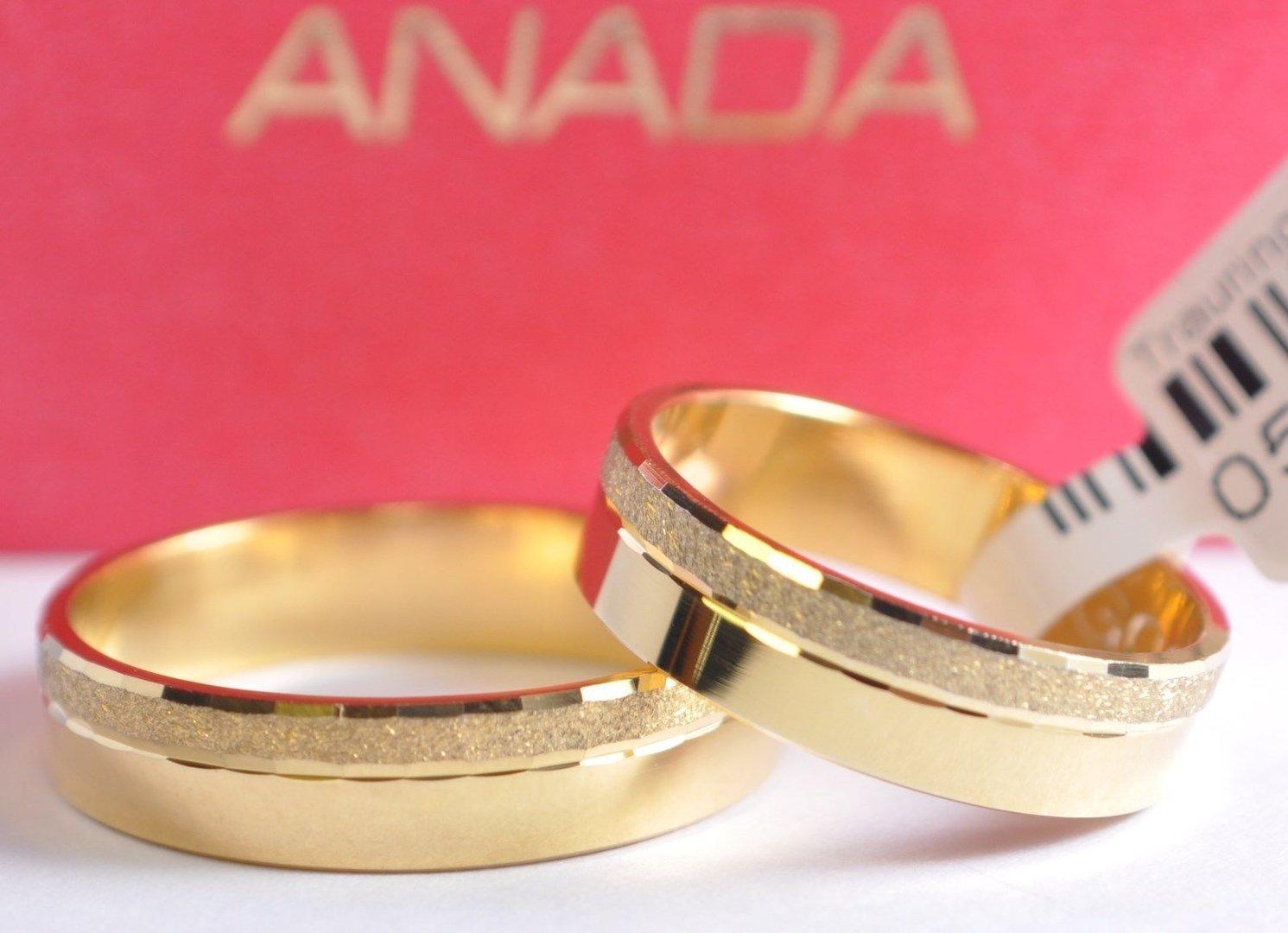 1 Paar Gold 585 Trauringe Eheringe Hochzeitsringe Kollektion Anada Classic 2017