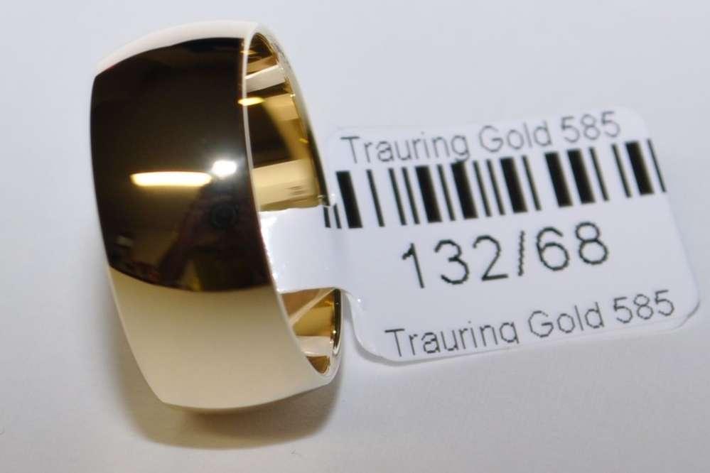 1 Trauring Ehering Hochzeitsring Gold 333 Poliert Sonderangebot ! Breite 9mm